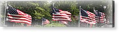 Memorial Day Acrylic Print by James Barrere