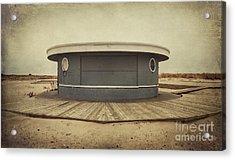 Memories In The Sand Acrylic Print by Evelina Kremsdorf