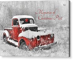 Memories Of Christmas Past Acrylic Print by Lori Deiter