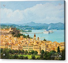 Memories Of Corfu Acrylic Print by Kiril Stanchev