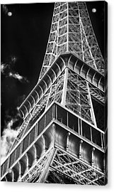 Memories Of The Eiffel Tower Acrylic Print by John Rizzuto