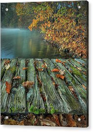 Memories Of The Lake Acrylic Print by Jaki Miller