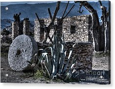 Memories Of The Past Acrylic Print by Heiko Koehrer-Wagner