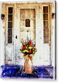 Memory Lane Acrylic Print by Janine Riley