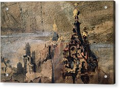 Memory Of Spain Acrylic Print by Victor Hugo