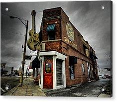 Memphis - Sun Studio 004 Acrylic Print by Lance Vaughn