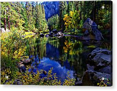 Merced River Yosemite National Park Acrylic Print by Scott McGuire