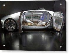 Mercedes-benz F015 Autonomous Car Acrylic Print by Jim West