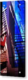 Merged - City Blues Acrylic Print by Jon Berry OsoPorto