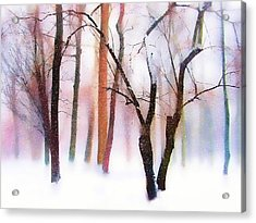 Merry Christmas Card Acrylic Print by Jessica Jenney