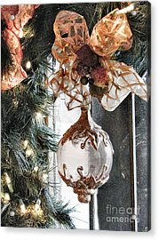 Merry Christmas Acrylic Print by Rory Sagner