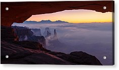 Mesa Mist Acrylic Print by Chad Dutson