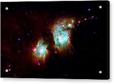 Messier 78 Star Formation Acrylic Print by The  Vault - Jennifer Rondinelli Reilly
