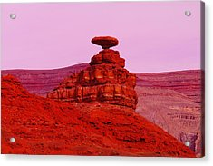 Mexican Hat  Acrylic Print by Jeff Swan