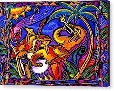 Latin Music Acrylic Print by Leon Zernitsky
