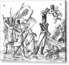 Mexico Pedraza, 1828 Acrylic Print by Granger