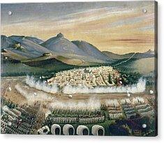 Mexico Reform War, 1860 Acrylic Print by Granger