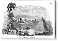 Mexico Uxmal, 1843 Acrylic Print by Granger