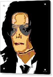 Michael Acrylic Print by Charles Smith