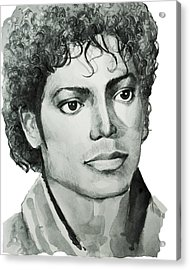 Michael Jackson 7 Acrylic Print by Bekim Art