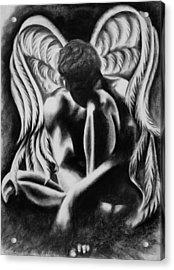 Michael Acrylic Print by Mallika