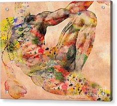 Michelangelo  Acrylic Print by Mark Ashkenazi