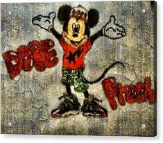 Mickey Of 11 Acrylic Print by Travis Hadley