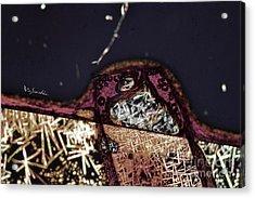 Micro Art Coffee Solution 7 Acrylic Print by Vin Kitayama