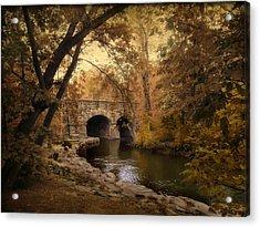 Midland Bridge Acrylic Print by Jessica Jenney