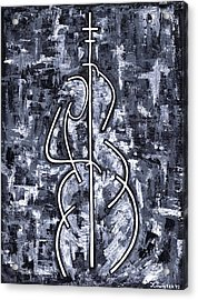 Midnight Blue Acrylic Print by Kamil Swiatek