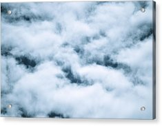 Midnight Clouds  Acrylic Print by Sheldon Blackwell