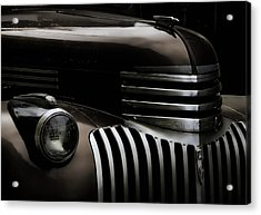 Midnight Grille Acrylic Print by Ken Smith