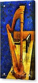 Midnight Harp Acrylic Print by RC DeWinter