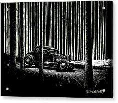 Midnight Run Acrylic Print by Bomonster