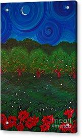 Midsummer Night By Jrr Acrylic Print by First Star Art