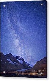 Milky Way In Jasper Acrylic Print by Dan Jurak