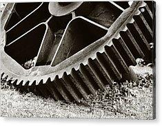 Mill Gear Acrylic Print by Scott Pellegrin