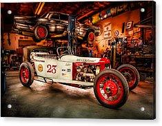 Millers Chop Shop Track T Toyota Acrylic Print by Yo Pedro