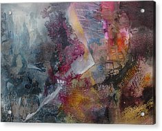 Mindscape Acrylic Print by Marilyn Woods
