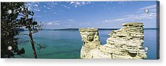Miners Castle, Pictured Rocks National Acrylic Print by Panoramic Images