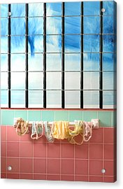 Mini Laundry Acrylic Print by Daniel Furon