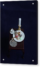 Miniatures O O A K Acrylic Print by David Bearden