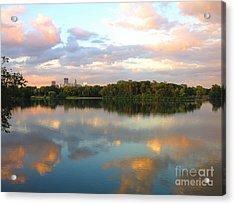 Minneapolis Lakes Acrylic Print by Heidi Hermes