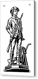Minutemen Acrylic Print by Granger