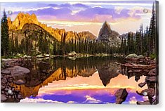 Mirror Lake Yosemite National Park Acrylic Print by Bob and Nadine Johnston