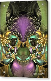 Miss Goblin - Surrealism Acrylic Print by Sipo Liimatainen