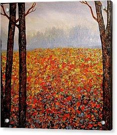 Misty Morning Acrylic Print by Heather Matthews