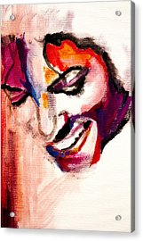 Mj Impression Acrylic Print by Molly Picklesimer