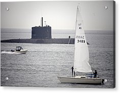 Mode Of Transport Acrylic Print by Graham Foulkes