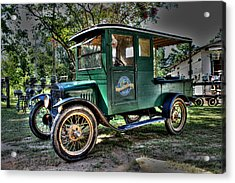 Model T Truck In Bon Secour Al Acrylic Print by Lynn Jordan